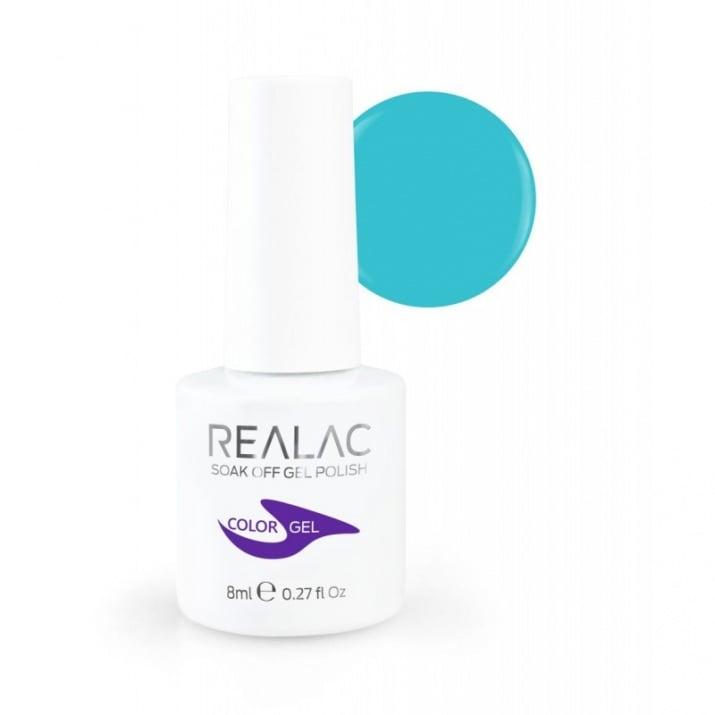 REALAC  ГЕЛ ЛАК - 8мл. Realac: 111 - Blue Hawaiian