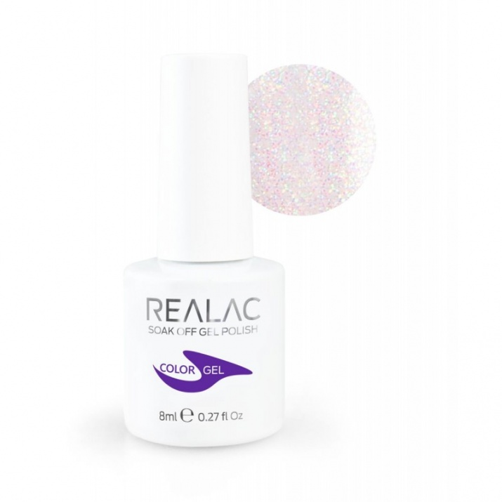 REALAC  ГЕЛ ЛАК - 8мл. Realac: 116 - Multistar