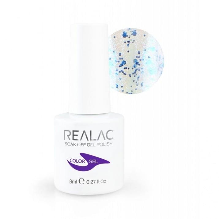 REALAC  ГЕЛ ЛАК - 8мл. Realac: 117 - Universe