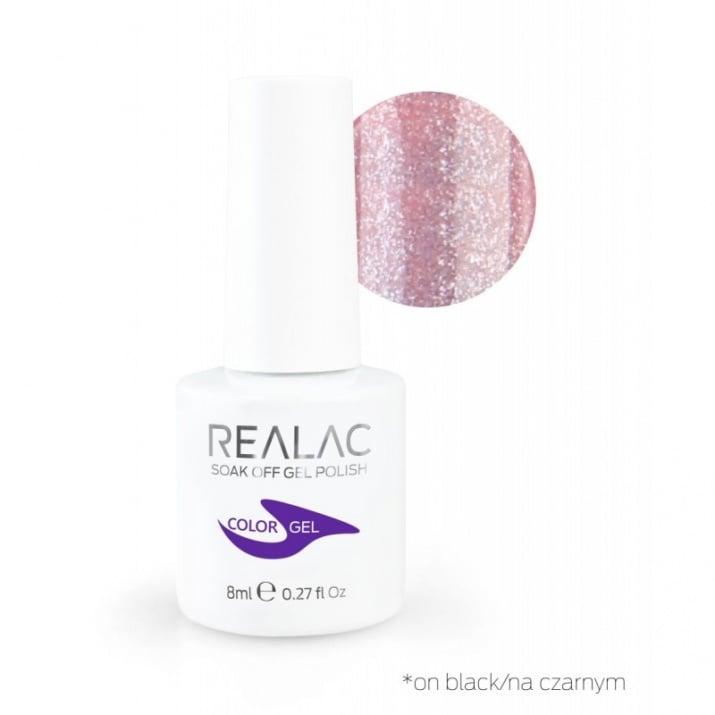 REALAC  ГЕЛ ЛАК - 8мл. Realac: 121 - Key To Your Heart Spell