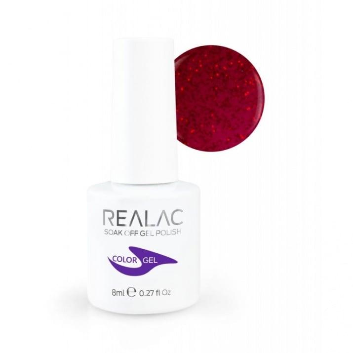 REALAC  ГЕЛ ЛАК - 8мл. Realac: 134 - Secret Love