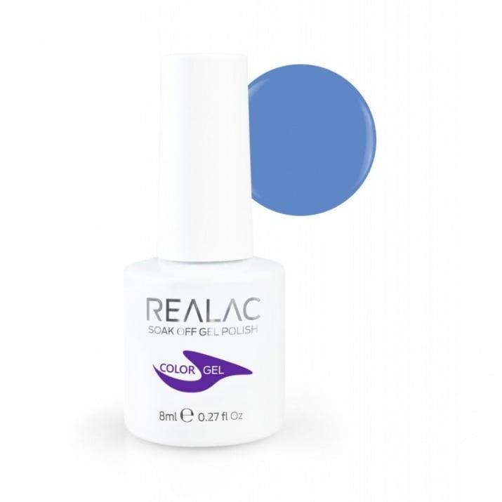 REALAC  ГЕЛ ЛАК - 8мл. Realac: 140 - Asia Blue