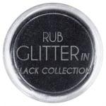 RUB GLITTER: Rub Glitter in Black Collection - 1