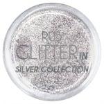 RUB GLITTER: Rub Glitter in Silver Collection - 1